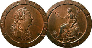 GB 2penny 1797