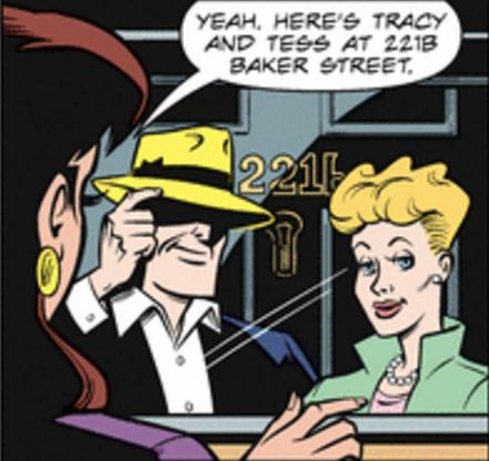 Sherlock Holmes and Dick Tracy