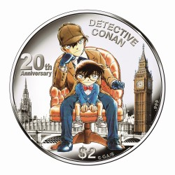 Cook Islands To Issue Detective Conan Coins