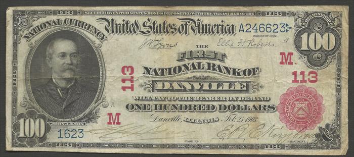 "Those ""Soft Hundred Dollar Bills"" (1910)"