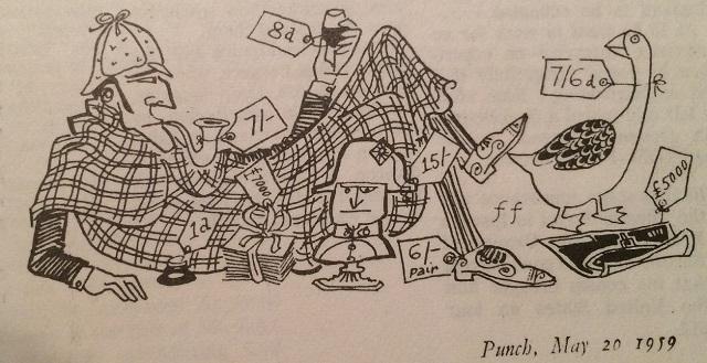 A 1959 Sherlockian Cartoon from Punch