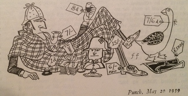 A 1959 Sherlockian Cartoon from Punch