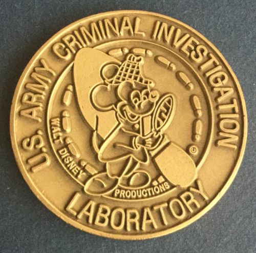 A Second U.S. Army Criminal Investigation Laboratory Challenge Coin