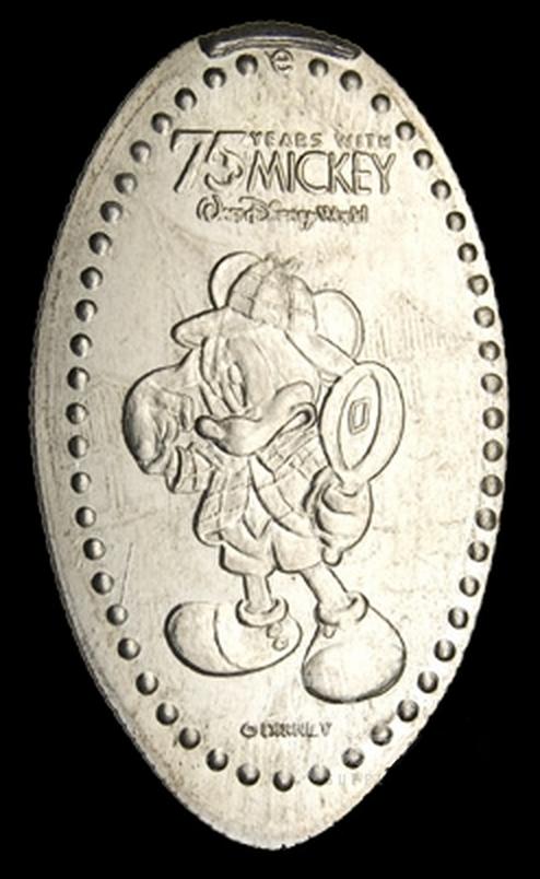 The 2003 Sherlock Mickey Elongated Quarter