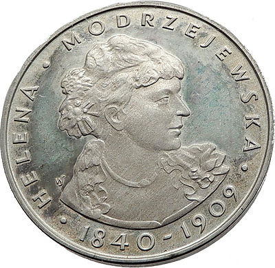 """1975 Polish Coin Features The """"Real"""" Irene Adler"""
