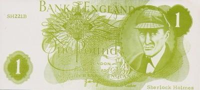 The Pontine Press Sherlock Holmes One Hound Banknote