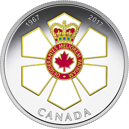 Canada Issues $20 Coin Honoring the Order of Canada
