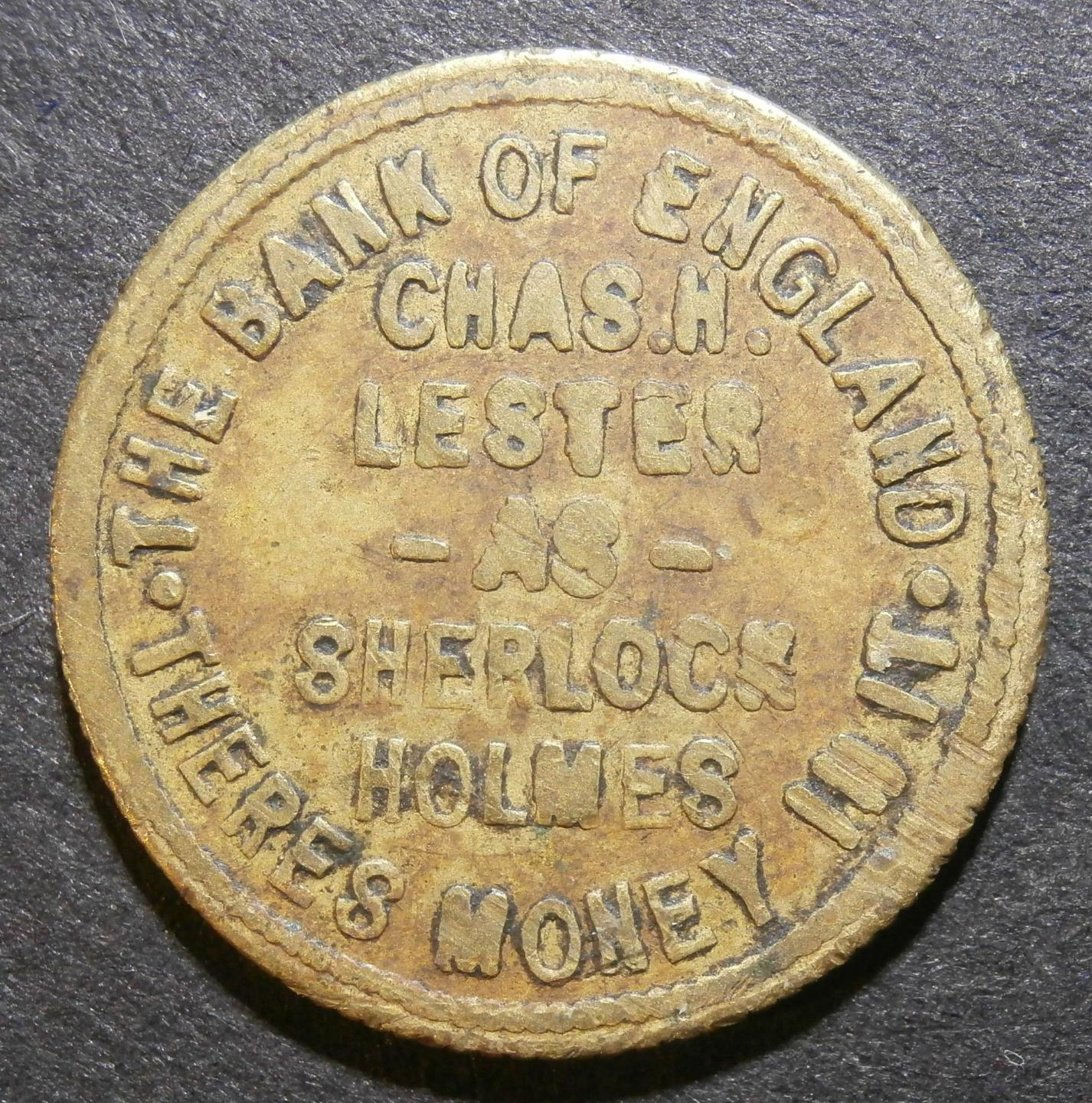 A Sherlock Holmes Token… From Wales… From 1915