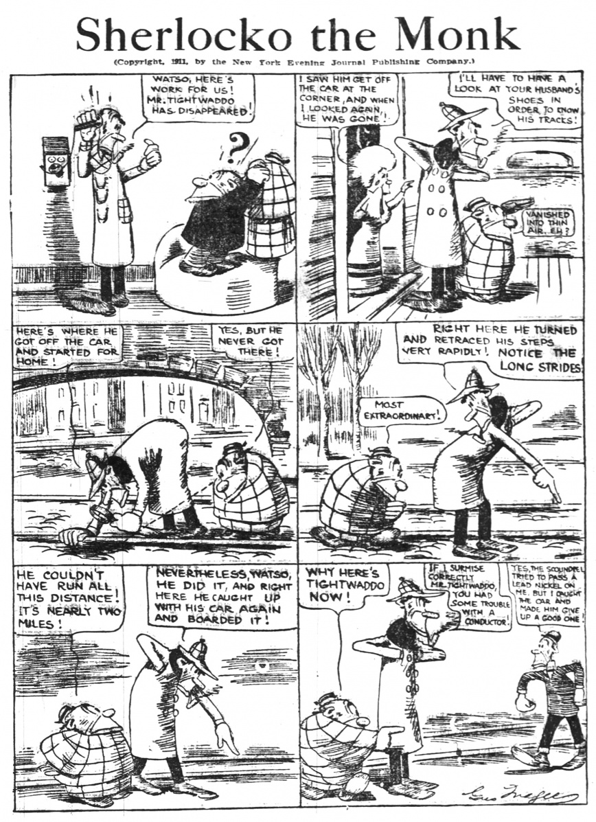 Sherlocko the Monk: The Case of the Phony Nickel (April 12, 1911)