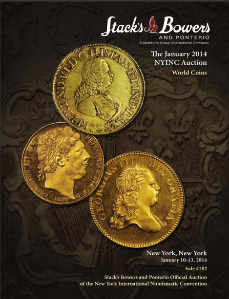 Three ACD Collection Coins Auctioned in January 2014