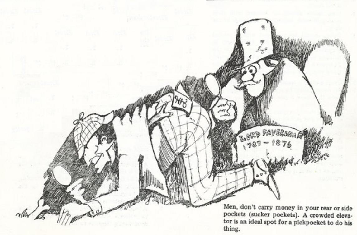 Sherlock Holmes & Pickpockets (1974)