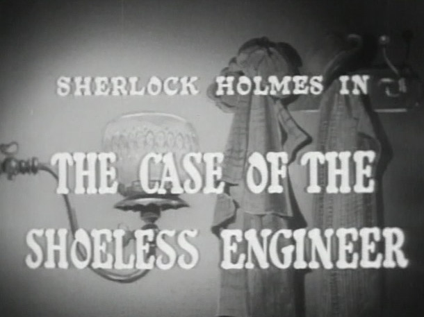 The Case of the Shoeless Engineer – January 3, 1955