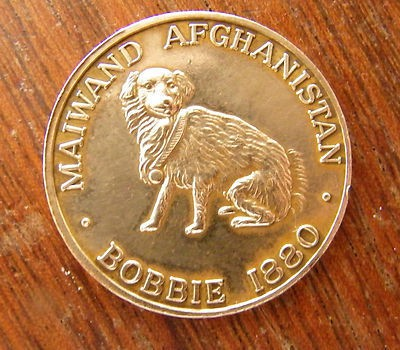 The Dog and the Afghanistan Campaign Medal (2000)