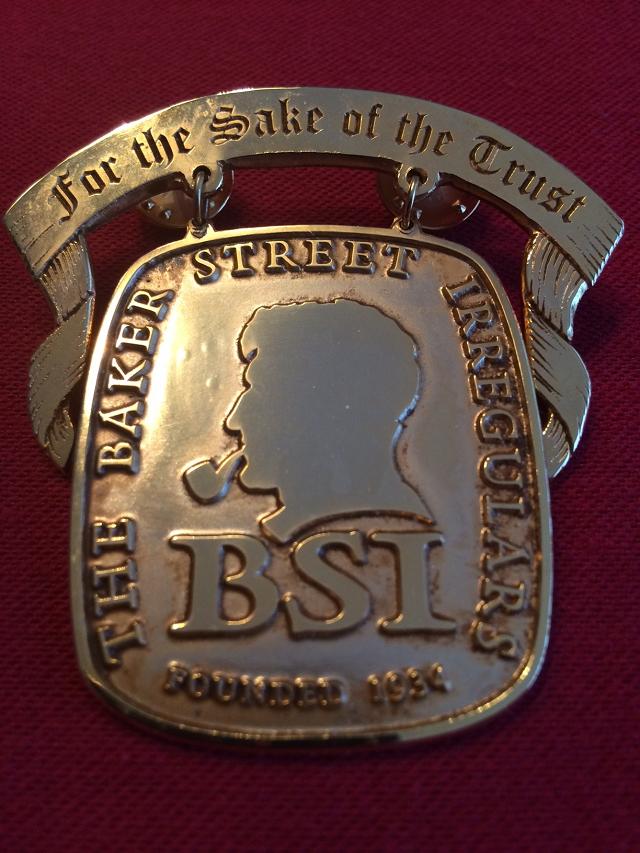 The 2014 BSI Trust Benefactor Medal