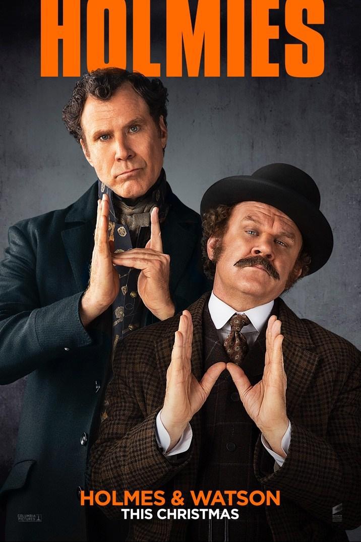 Holmes & Watson Costars on Mardi Gras Doubloons