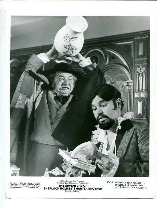 Faces of Moriarty Leo McKern
