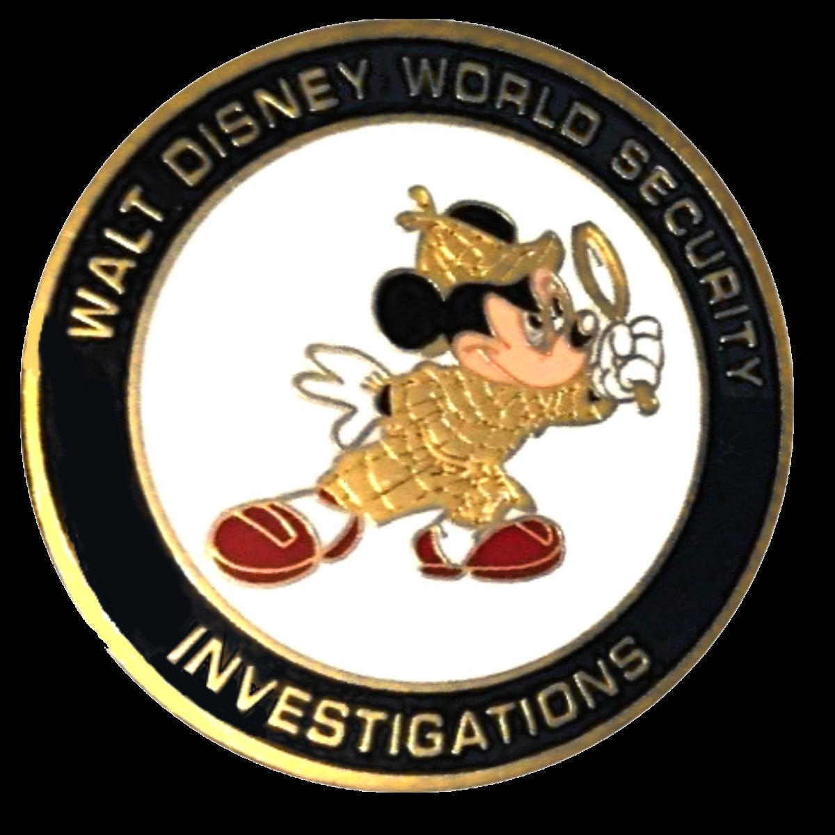 A Sherlockian Challenge Coin from Walt Disney World