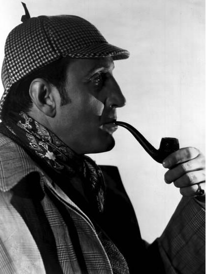 That's Basil Rathbone On That Coin!