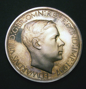 Paget's Death Recalls Role in Designing Ill-Fated Coinage of King Edward VIII (12/18/1974)