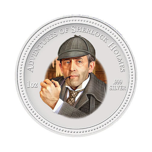 The 2007 Cook Islands Sherlock Holmes $2 Coin
