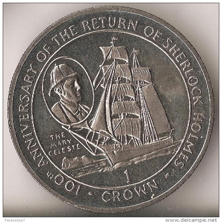 The 1994 Gibraltar Mary Celeste One Crown Coin