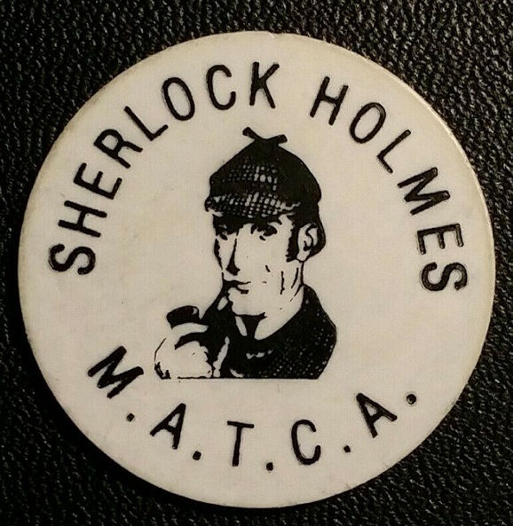 MATCA Honored Holmes With 1984 Token
