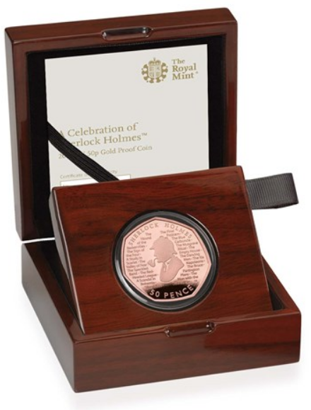 Individual 2019 Sherlock Holmes Coins Now On Sale By British Royal Mint