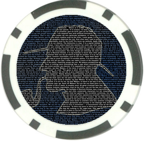Sherlockian Poker Chips, Part II