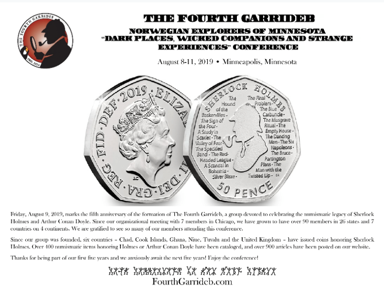 TFG Issues Souvenir Card at Norwegian Explorers Conference