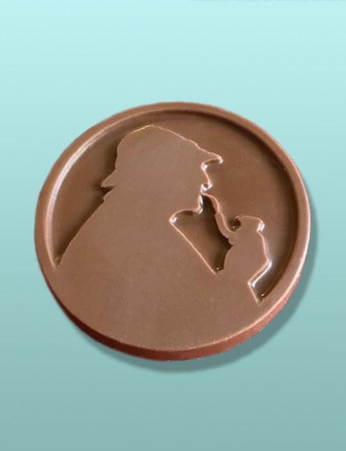 Chocolate Sherlock Holmes Medallions