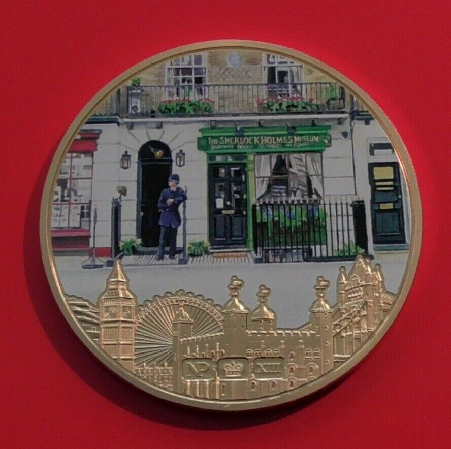 The Iconic London Numisproof Collection's 221b Baker Street Medal