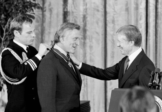 Image result for kirk douglas medal of freedom photos