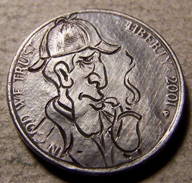 The Engraved Coins & Hobo Nickel Art of 89Pines