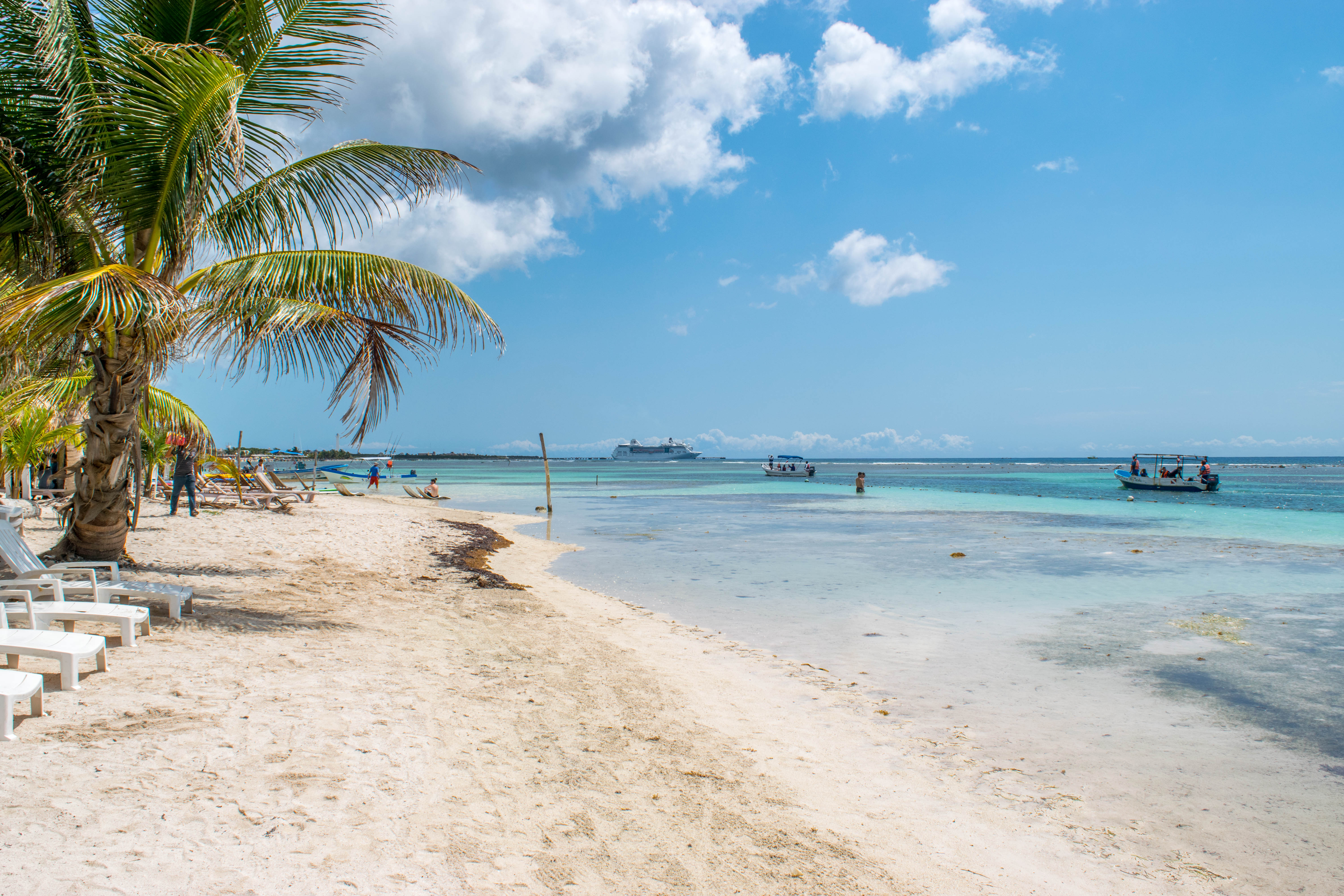 Beach Clubbing in Costa Maya