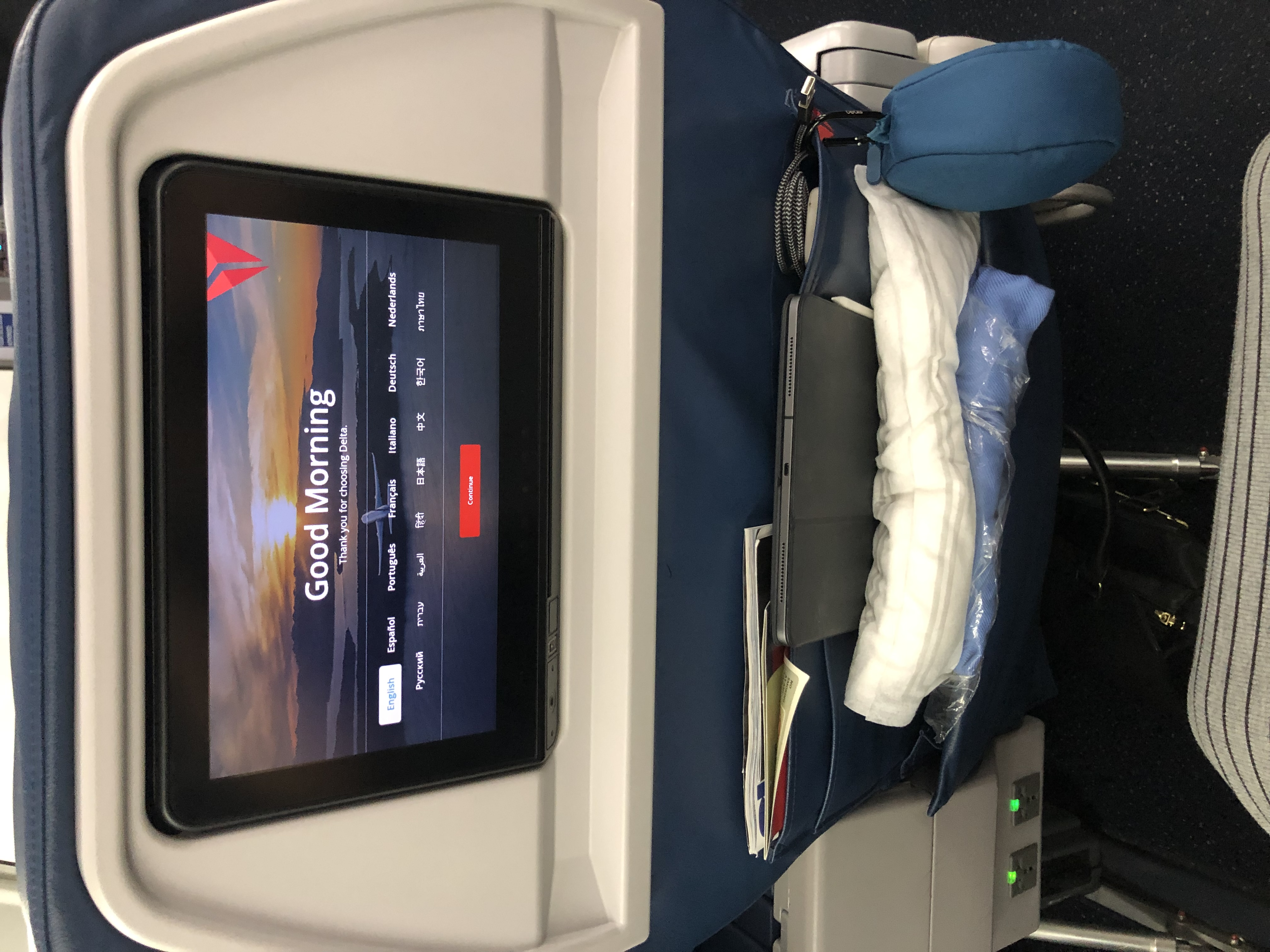 Delta First Class Review