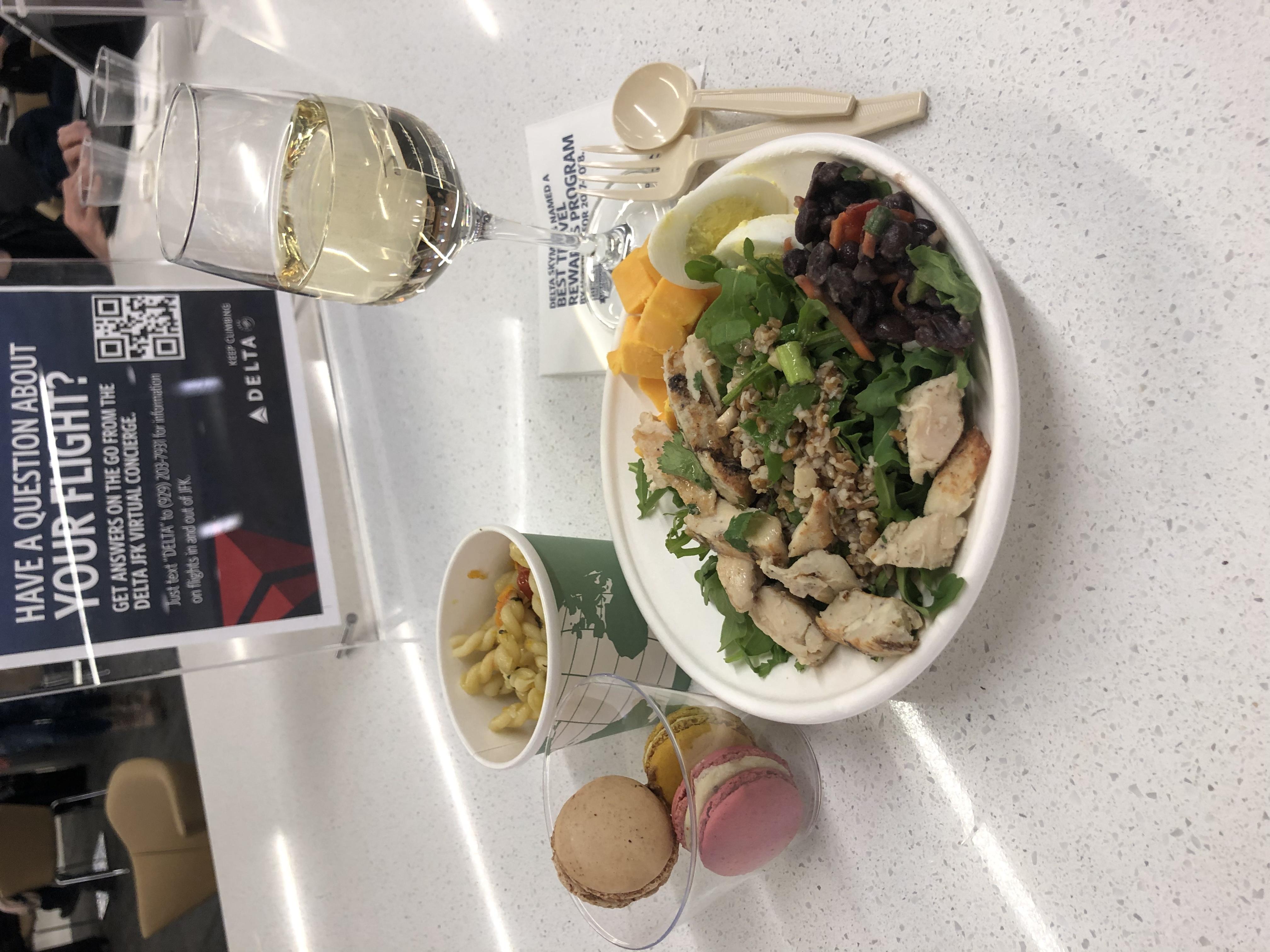 Delta Lounge @ JFK Review