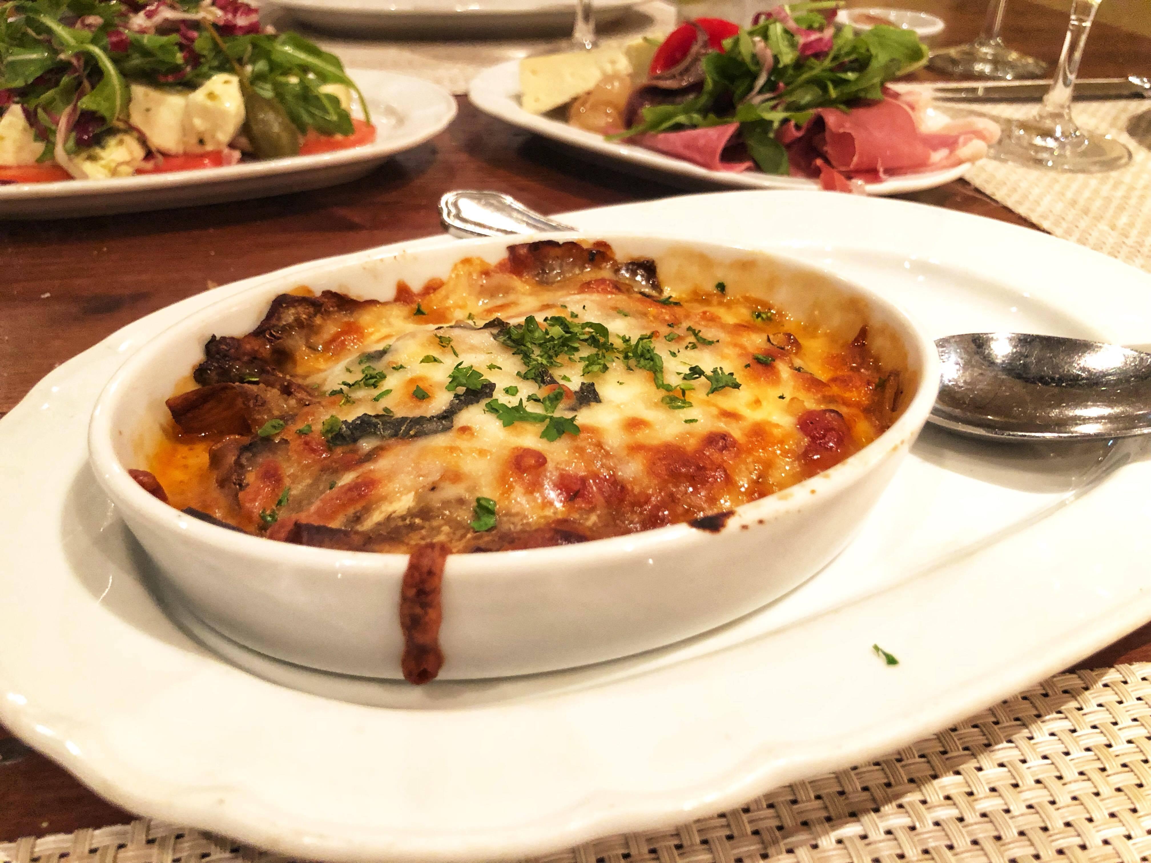 Dinner at Giovanni's-Vision OTS