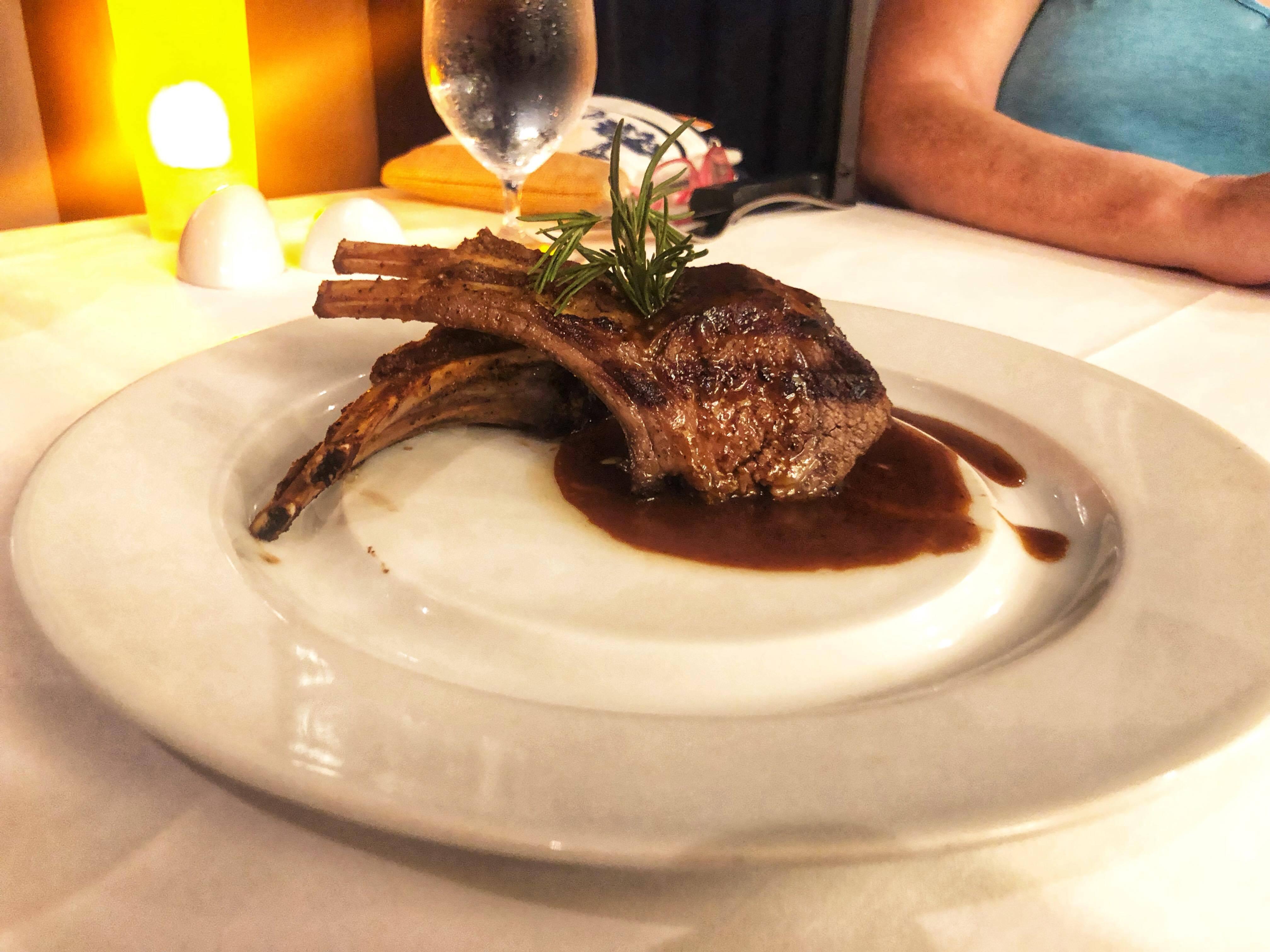 Dinner at Chops Grille-Vision OTS