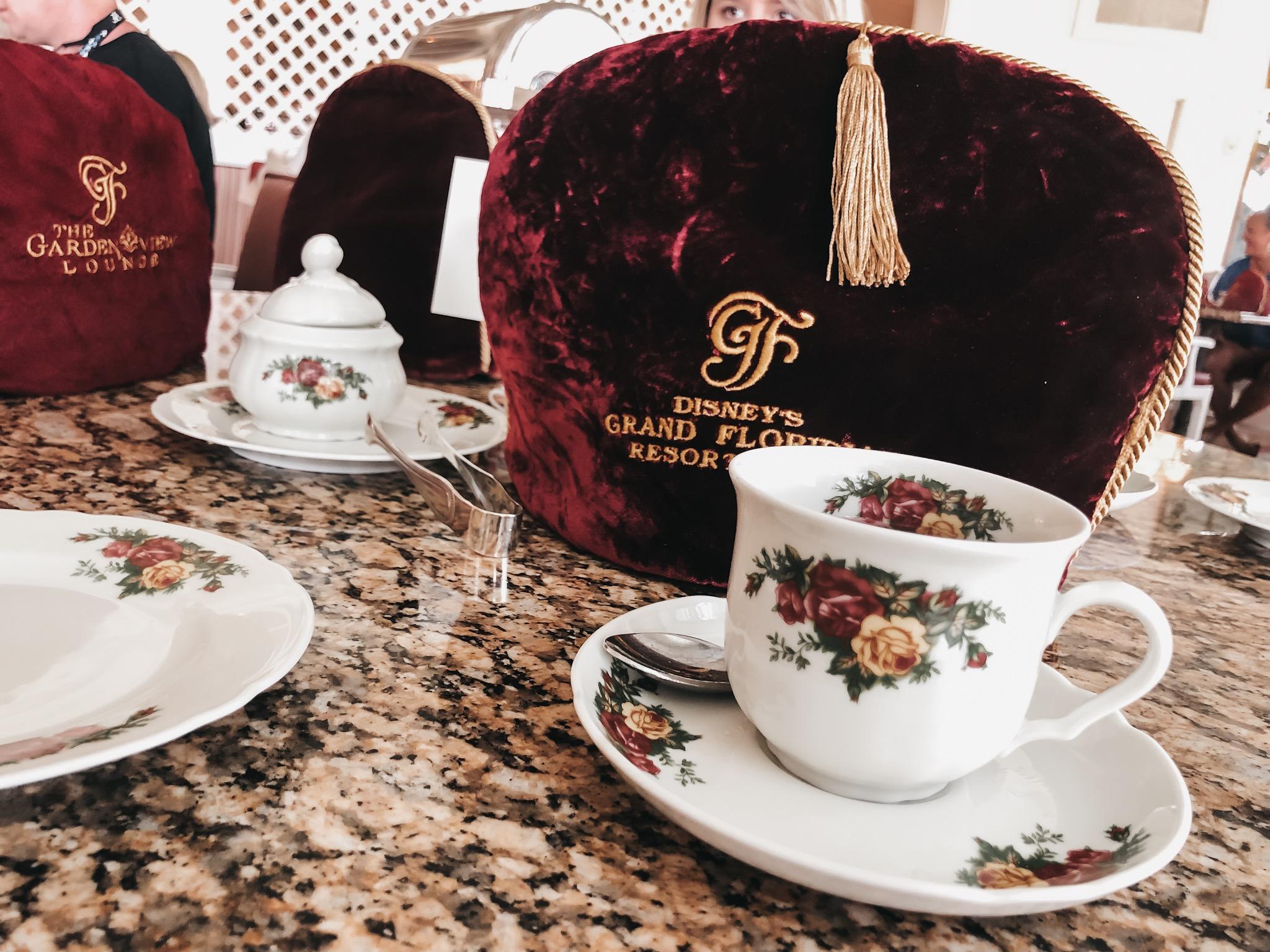 Afternoon Tea at Disney's Grand Floridian Resort