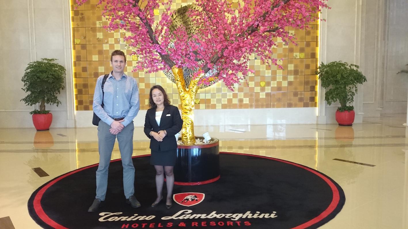 New 5 Star Hotel Partners  -Tonino Lamborghini, Kunshan