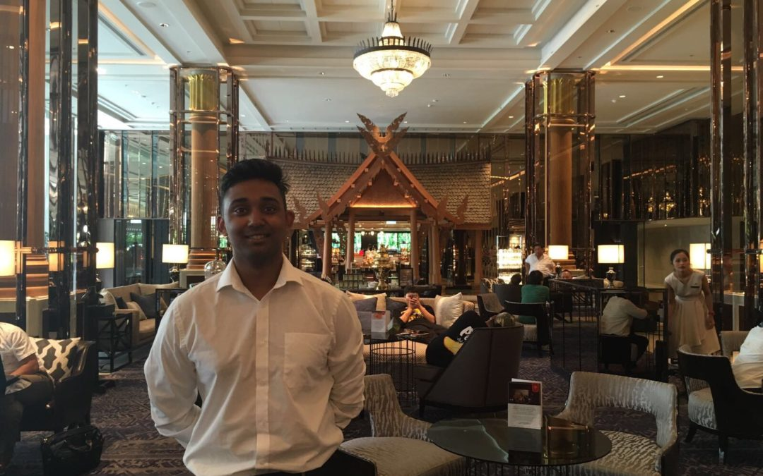 Hassan Mahmud talks about his experience with Marriott in Bangkok