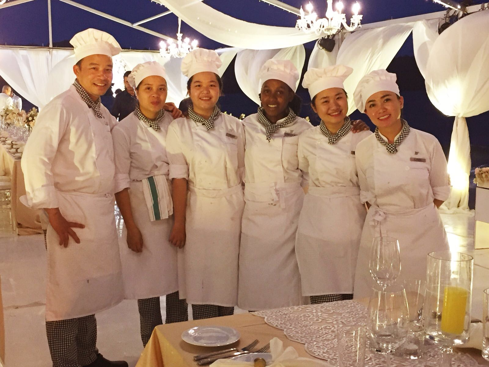 Placement Year International - Culinary Arts student on work placement at JW Marriott in Vietnam