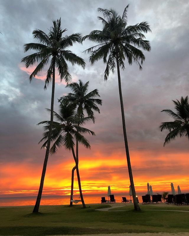 A beautiful Thai sunset!