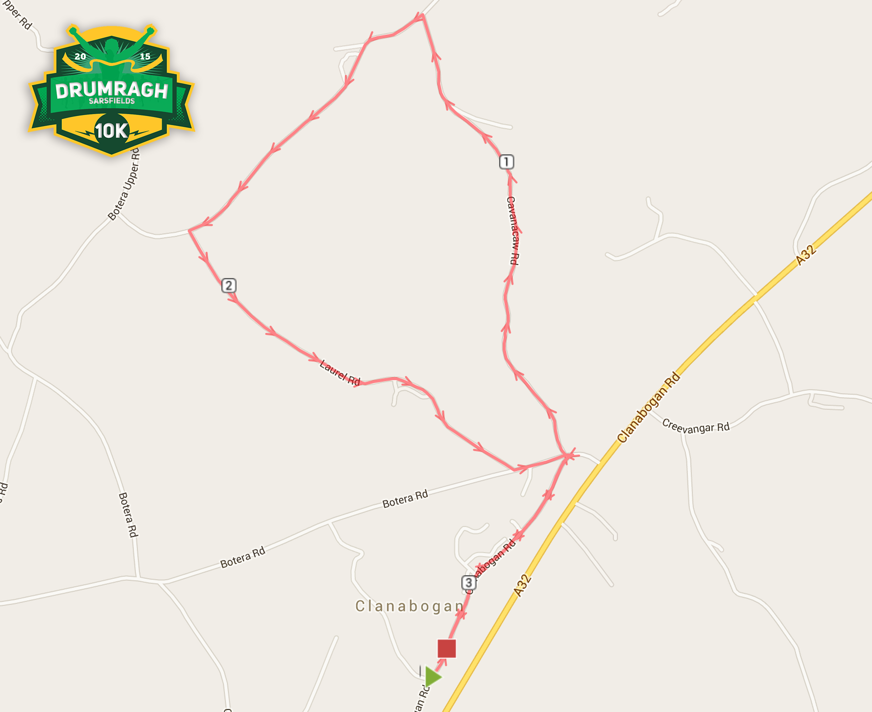 5K Route Map