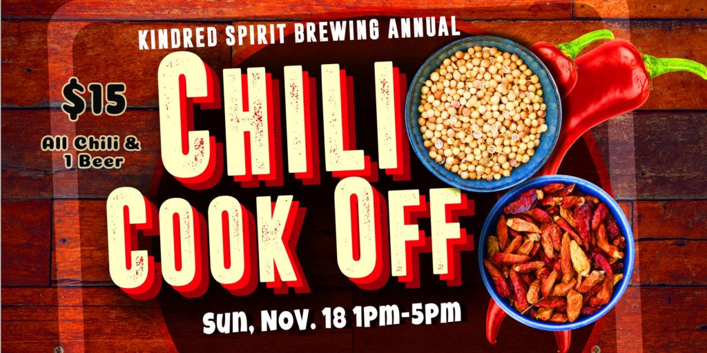 1 2018 Kindred Spirits Chilli Cook off