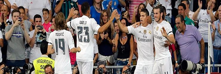 Volvio el gol. Real Madrid 5 – 0 Real Betis