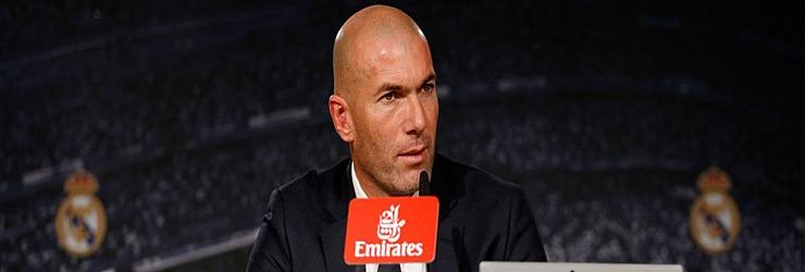 Rueda de prensa de Zinedine Zidane en su presentación como nuevo tecnico del Real Madrid