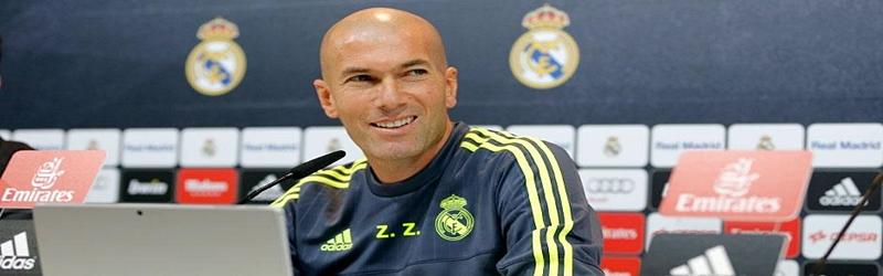 Rueda de prensa de Zinedine Zidane previa al partido ante el Sporting