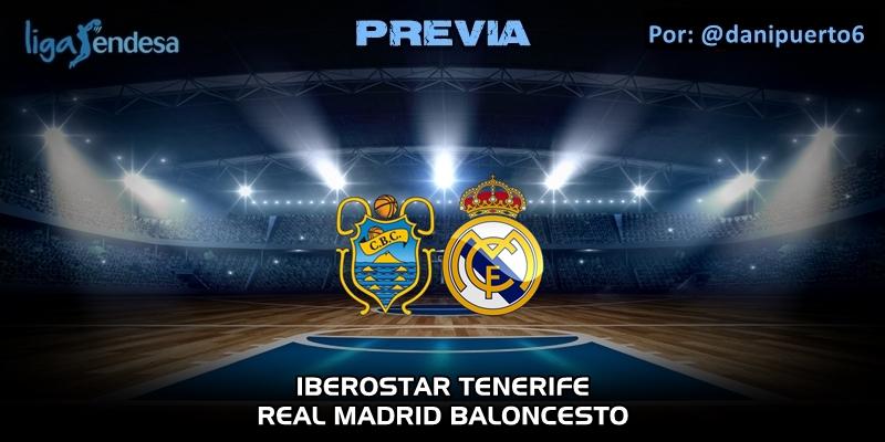 PREVIA | Iberostar Tenerife vs Real Madrid | Liga Endesa | Jornada 25