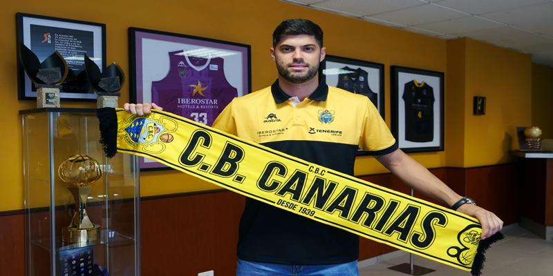 NOTICIAS   Santi Yusta, nuevo jugador del Iberostar Tenerife
